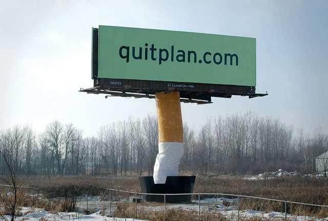 creative advertising Quit Plan