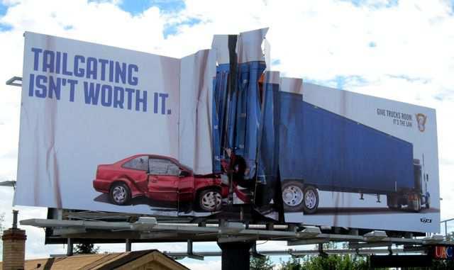 creative advertising Colorado State Patrol
