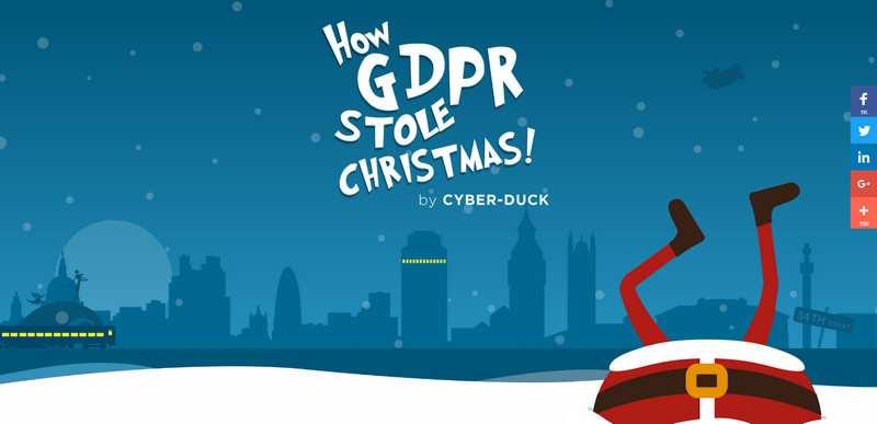 How GDPR Stole Christmas