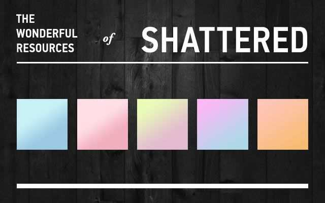 Pastel adobe photoshop 12 Gradients
