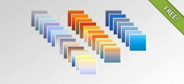 PSD Photoshop Gradients adobe photoshop 30 Gradients