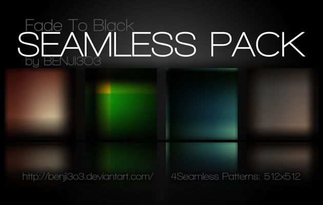 Seamless adobe photoshop Fade To Black