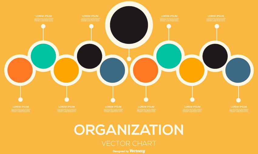 Organizational Chart Illustration