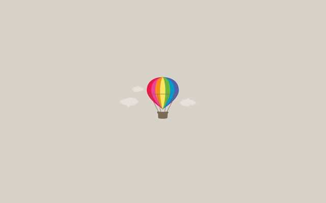 Minimal Wallpaper Desktop Rainbow Dreams