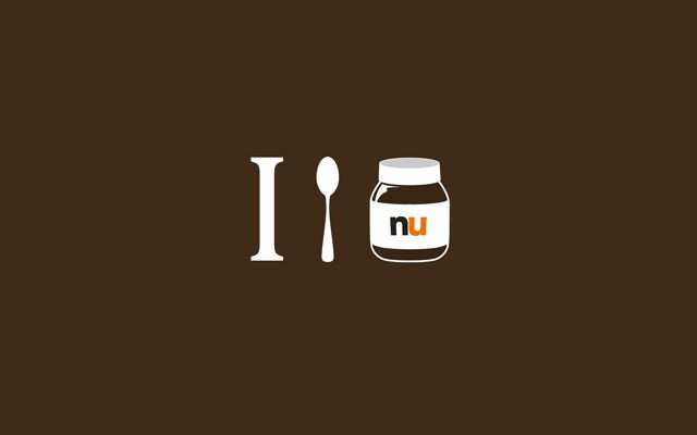 Minimal Wallpaper Desktop I Spoon Nutella