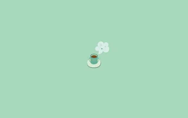 Minimal Wallpaper Desktop Coffee