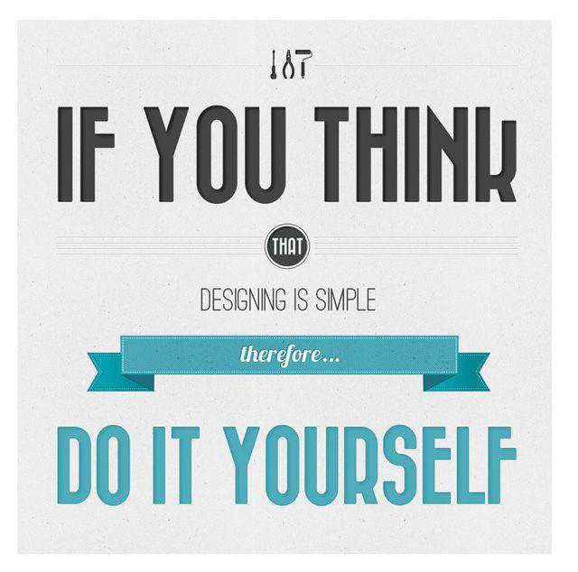 Do It Yourself motivational wallpaper