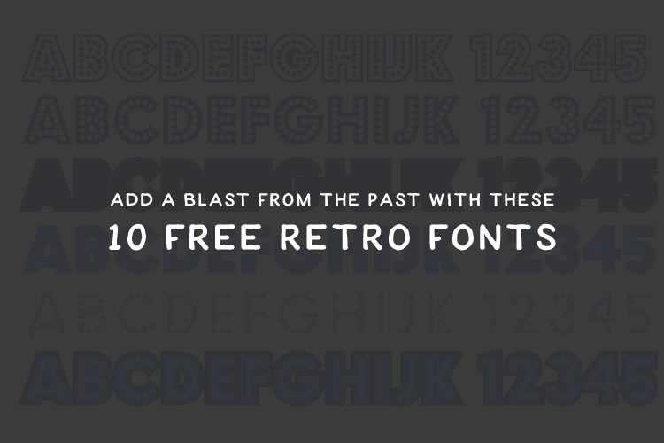 retro-fonts