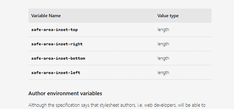 Everything about CSS environment variables
