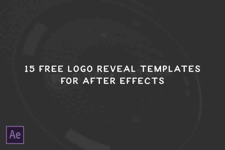 15 Free Logo Reveal Templates For Adobe After Effects