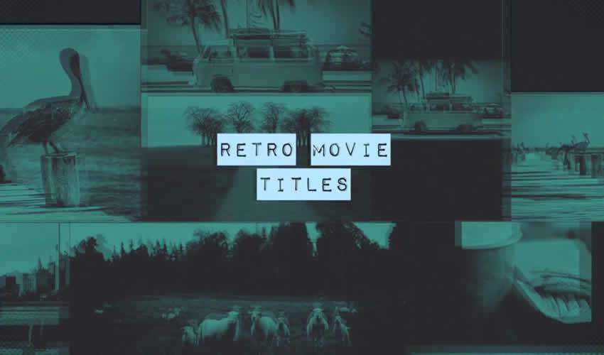 free movie titles intro after effects