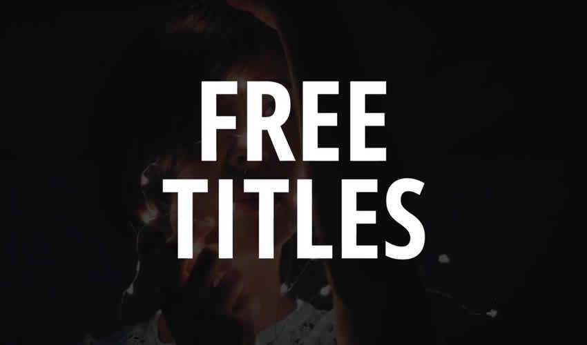 The 10 Best Free Titles Templates for After Effects
