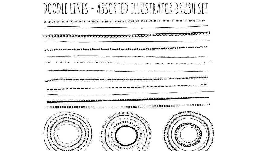 18 Free High-Resolution Adobe Illustrator Brush Packs