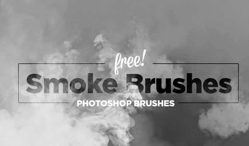 Hi-Res Smoke adobe photoshop ps brush brushes abr pack set free