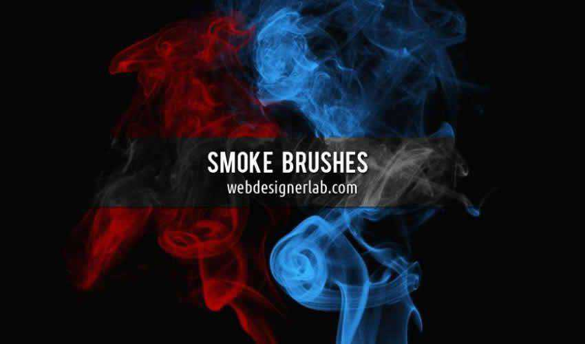 smoke adobe photoshop ps brush brushes abr pack set