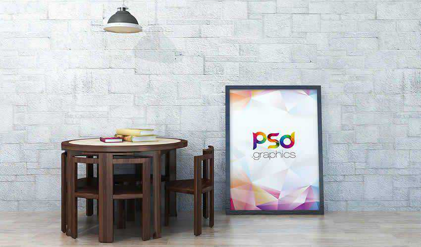 large psd photoshop poster mockup template editable flyer free