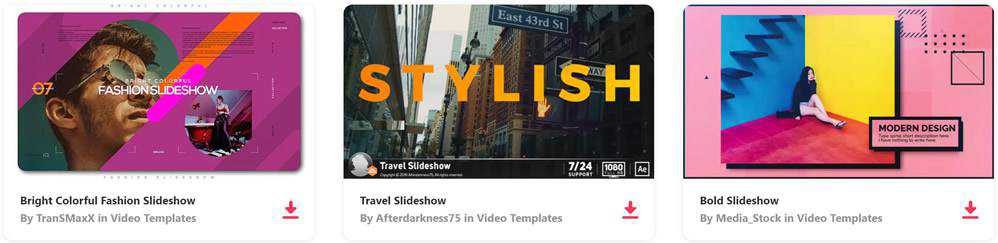 The 10 Best Free Slideshow & Gallery Templates for After Effects