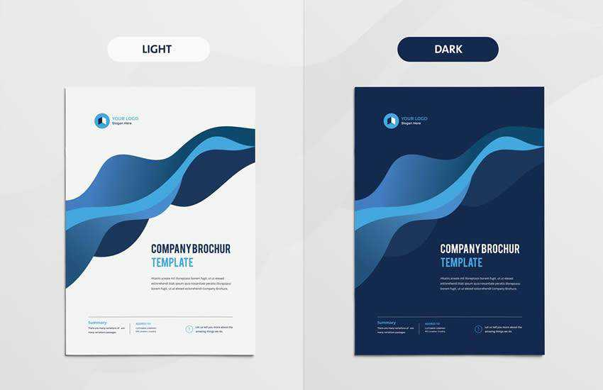 Clean Modern Multipurpose brochure business template format