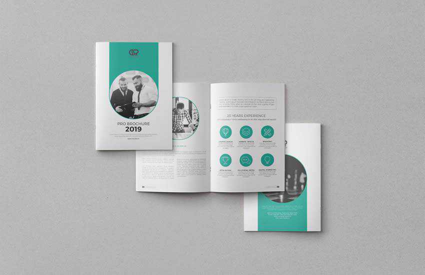 Corporate brochure business template format