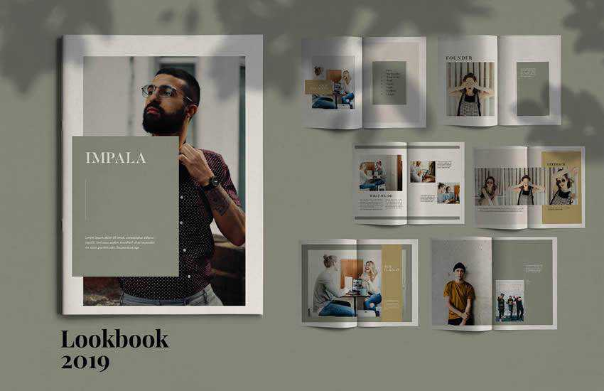 Impala brochure business template format