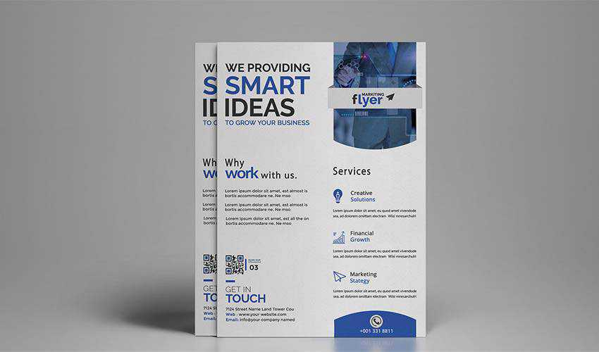 Corporate Business Flyer by mahmud reza