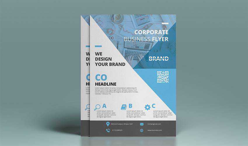 Business Corporate Flyer Design by Rashel Mia
