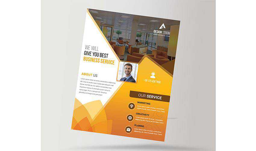 Creative Business Flyer by Design Strom