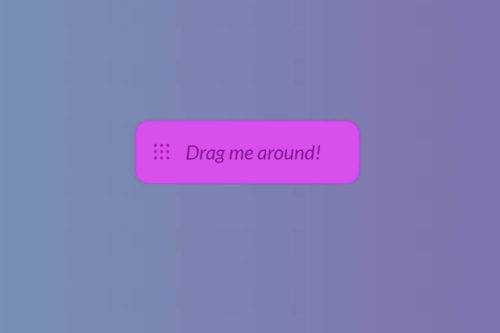 10 CSS & JavaScript Snippets for Creating Drag-and-Drop UIs