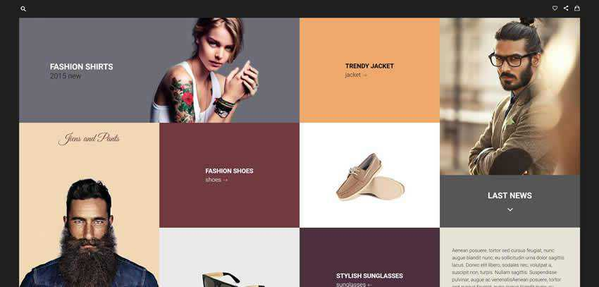 prana ecommerce shop website retail web design inspiration