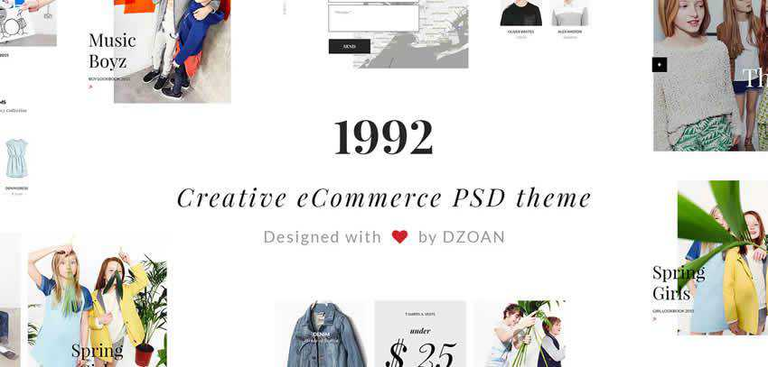 1992 creative ecommerce shop website retail web design inspiration