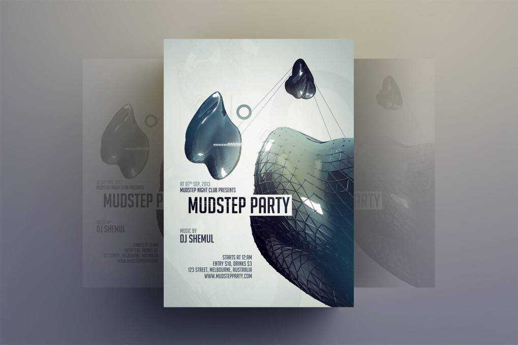 party flyer template format