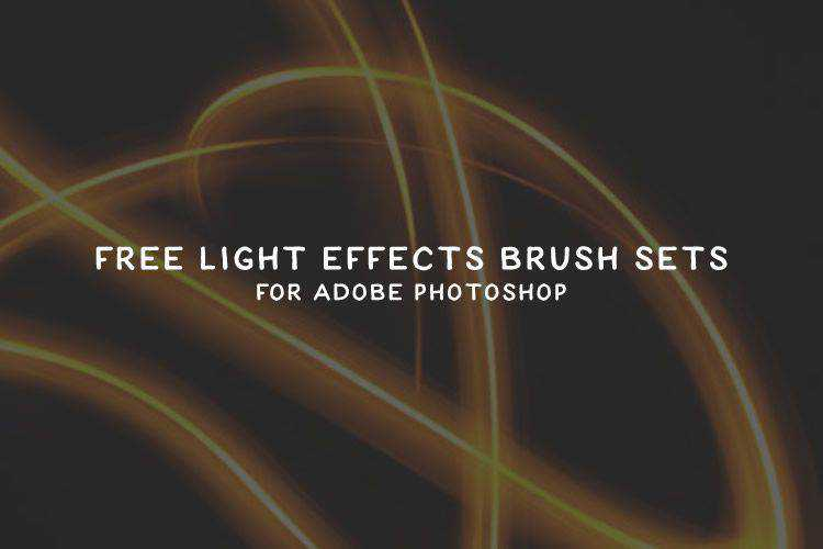 40 Free Light Effects Photoshop Brush Packs