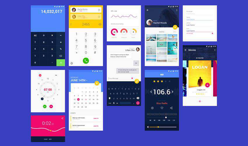 material design sketch mobile app ui kit sketch ux format free design creative sketch.app