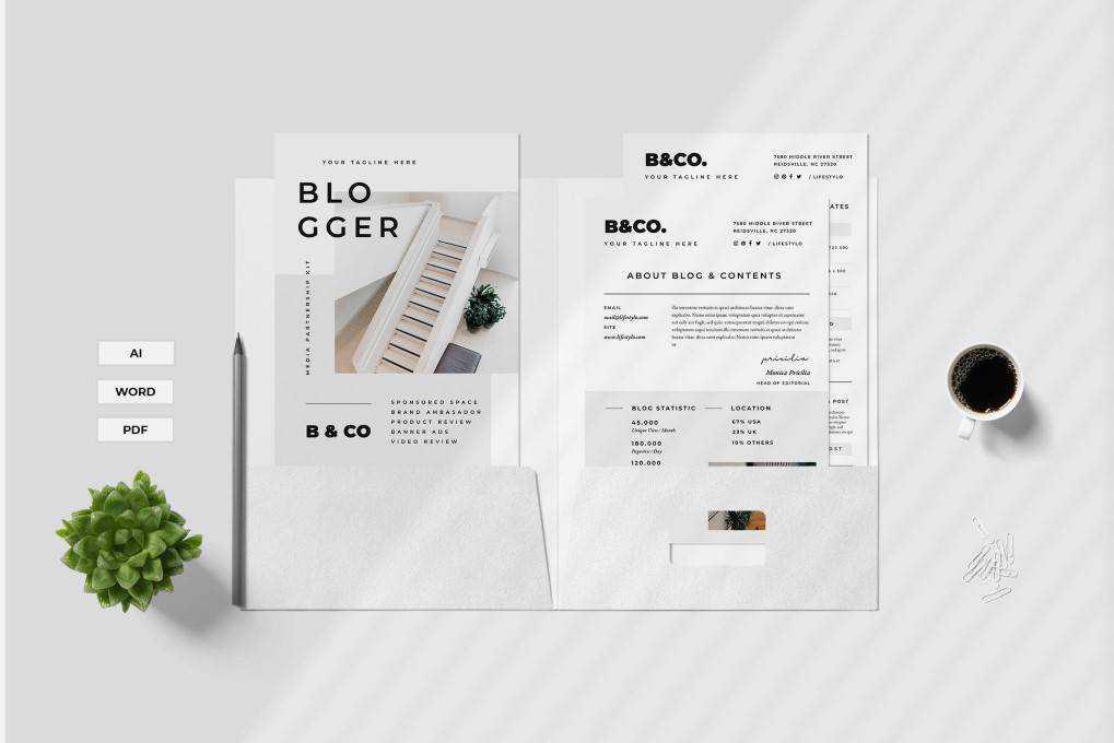 proposal print business template format