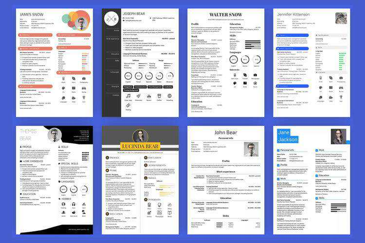 8 Tools & Web-Based Apps for Designing Creative Resumes