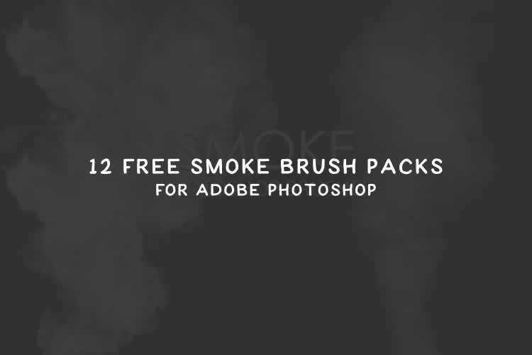 12 Free Smoke Brush Packs for Adobe Photoshop
