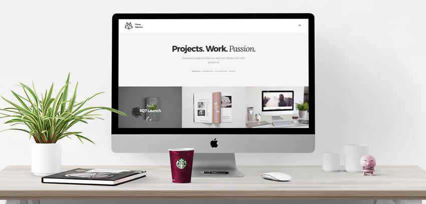 Three Agency ultra-minimal minimal creative template web design inspiration