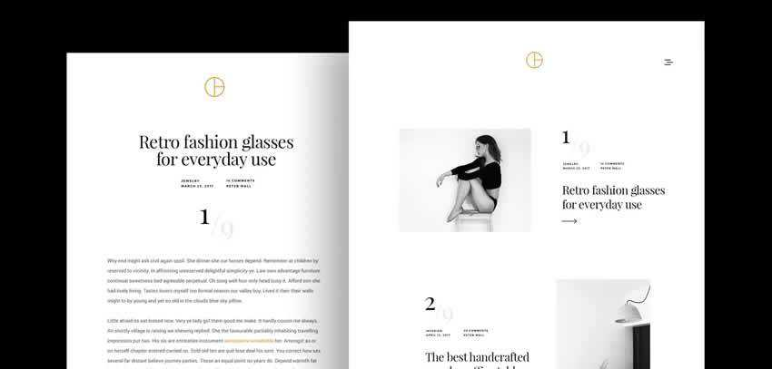 Opta Photography Portfolio ultra-minimal minimal creative template web design inspiration