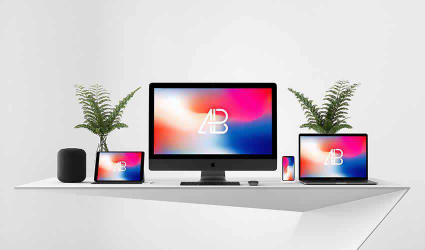 10 Free Responsive Website Mockup Templates