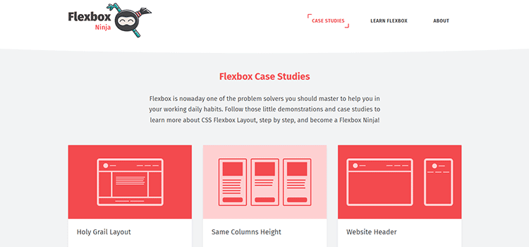 Flexbox Case Studies