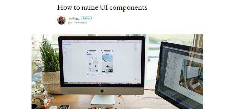 How to name UI components