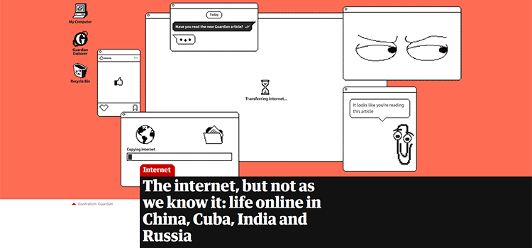 The internet, but not as we know it