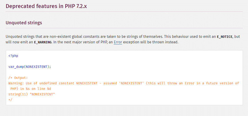 PHP Documentation