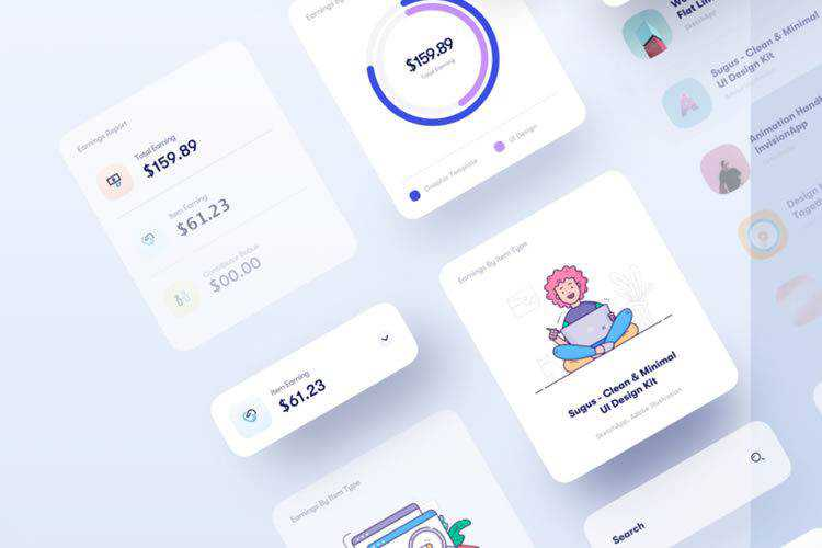 20 Free Admin Dashboard UI Templates for Photoshop & Sketch App