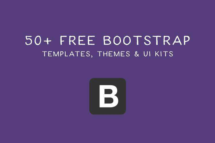 50 Free Bootstrap Web Templates & Themes
