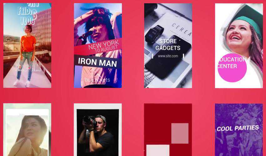 Instagram Stories Premiere Pro Template Free