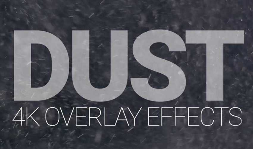 4K Dust Overlays Free