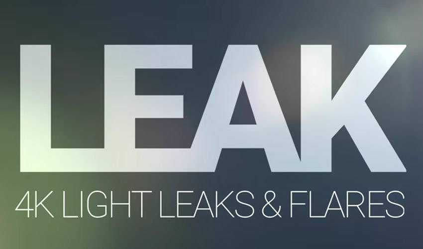 Light Leaks and Flares for Premiere Pro Free