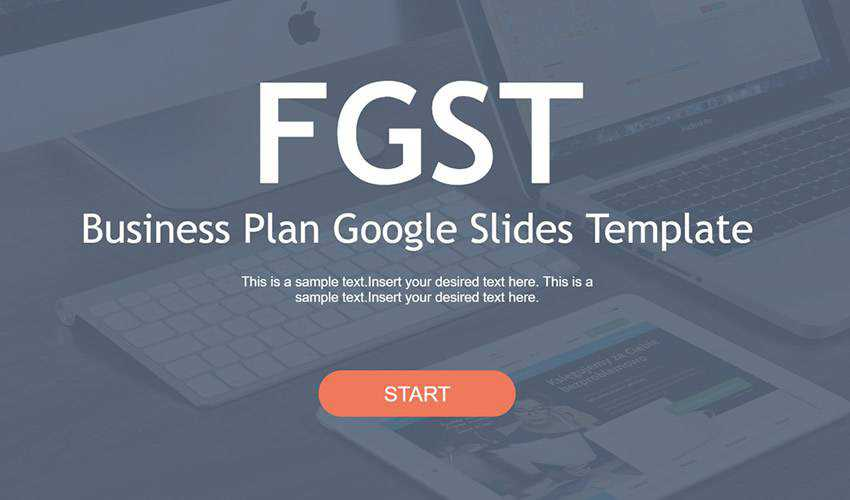 Business Plan google slides theme presentation template free