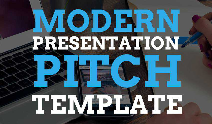 Modern Presentation Pitch google slides theme presentation template free